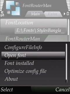 How To Change Font Of Symbian Device