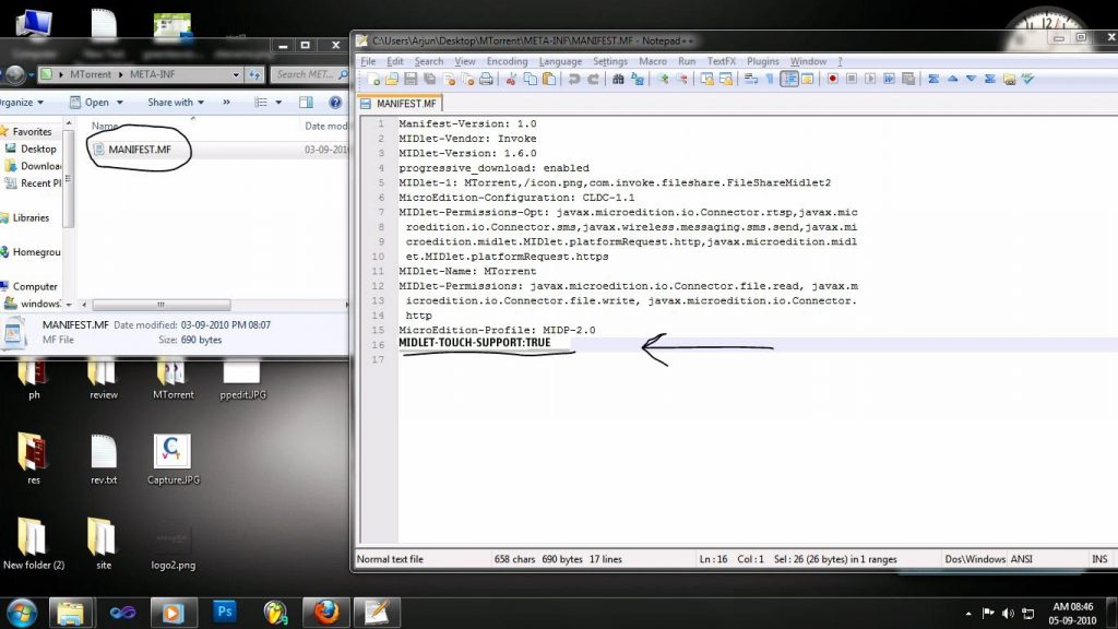 How To Make Java Applications Full Screen Touch Supported