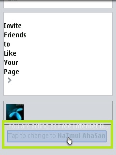 """How To Manually Change """"Acting As"""" Of a Page On Facebook Mobile"""