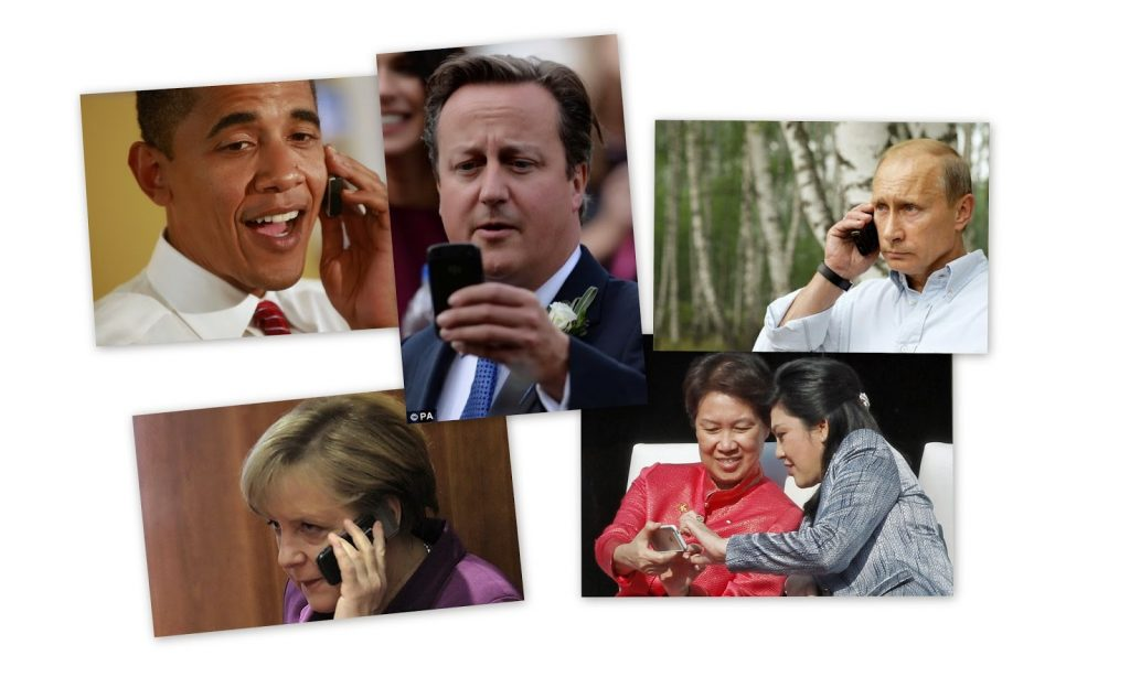 Favorite smartphones of world leaders