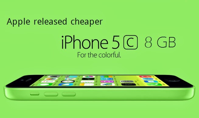 Apple's cheaper iPhone 5C 8GB released