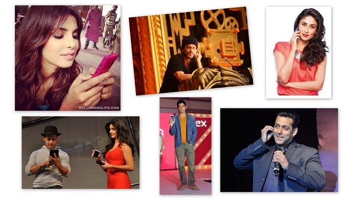 Favorite Smartphones of Bollywood Stars