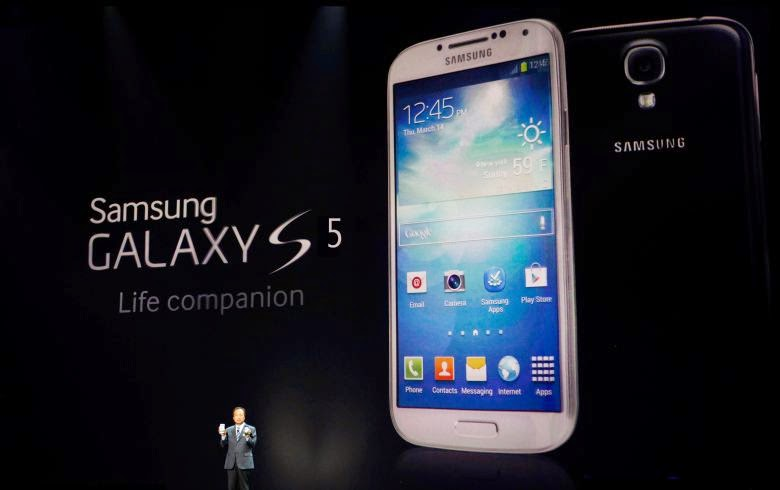 Samsung Galaxy S5 - Best Smartphones 2014 top 10