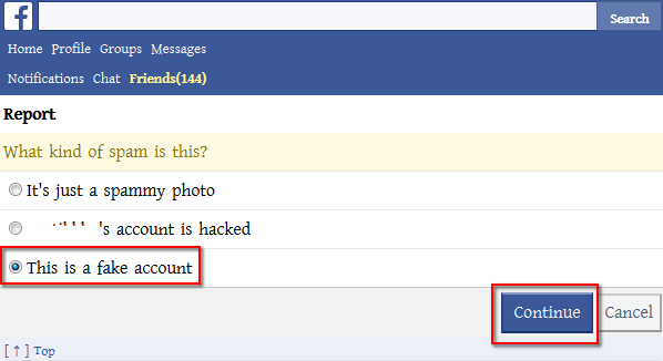 How To Report against Facebook Profile or Page From Mobile