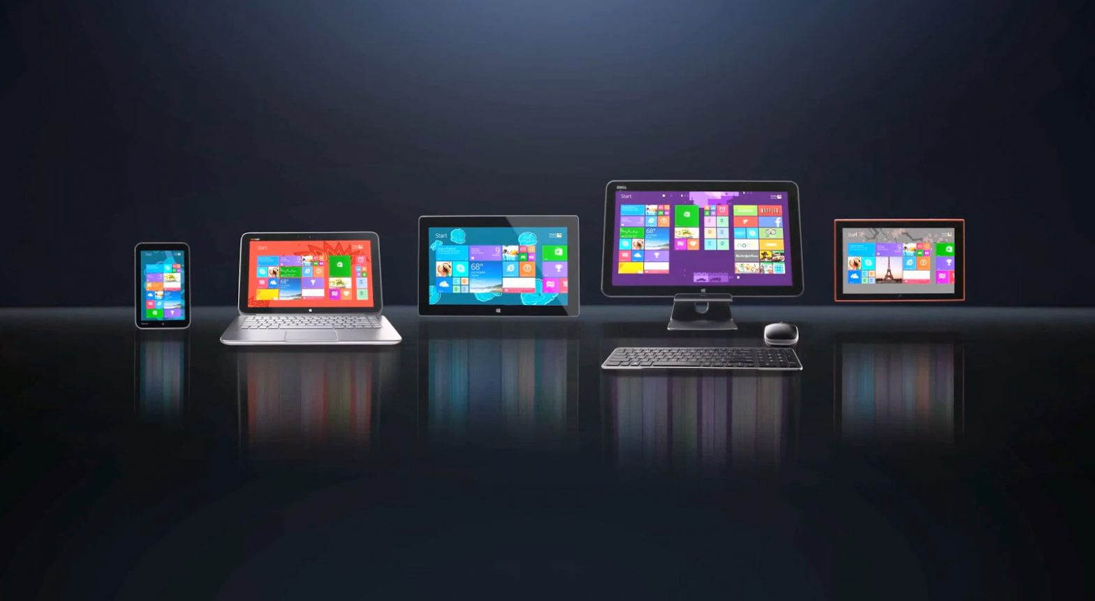 Single Windows OS To Be Used In Different Devices
