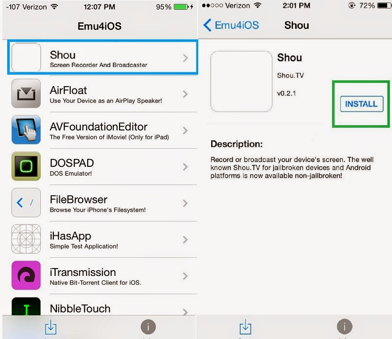 How to Record Screen of iPhone Itself