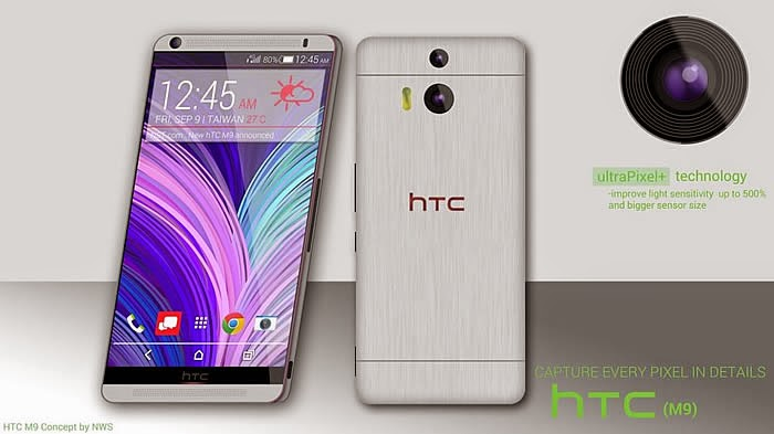 HTC One M9 - Full detailed specification