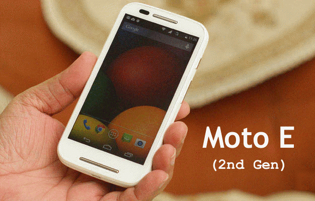 Motorola Moto E (Gen 2) with Android 5.0 Specifications | My Mobile Tips
