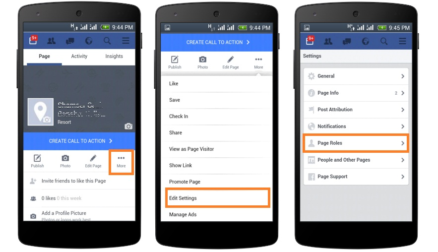 How to Add Admin to Facebook Page Using Mobile