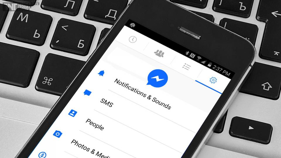 How to send SMS via Facebook Messenger app