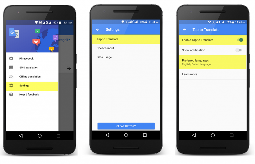 Use Google Translate to Boost Your English Skills: Enable Tap to Translate