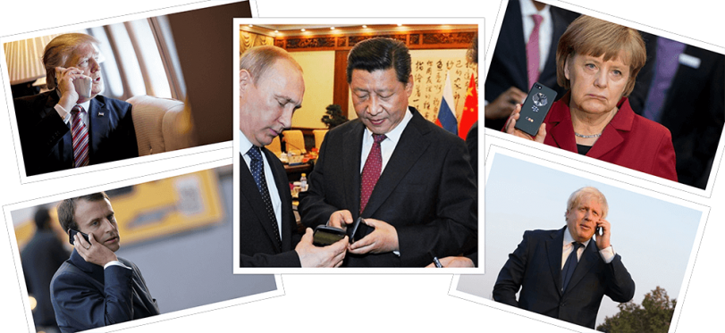 Which Mobile Phones World Leaders Are Using